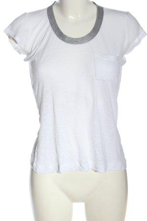 Calvin Klein Jeans Basic-Shirt weiß Casual-Look