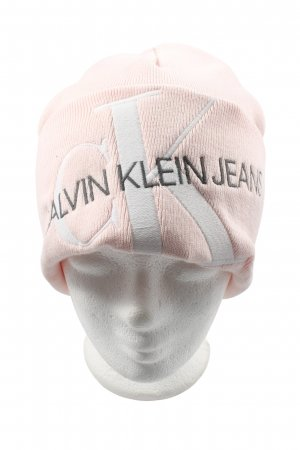 Calvin Klein Jeans Beanie embroidered lettering casual look