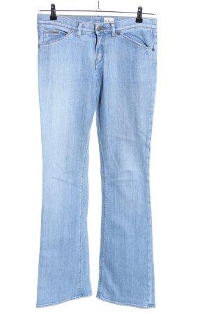 Calvin Klein Jeans Jeansy o kroju boot cut niebieski W stylu casual