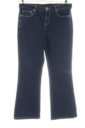 Calvin Klein Jeans Boot Cut Jeans blau Casual-Look