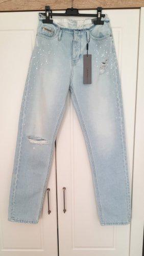 Calvin Klein Boyfriend jeans lichtblauw-azuur