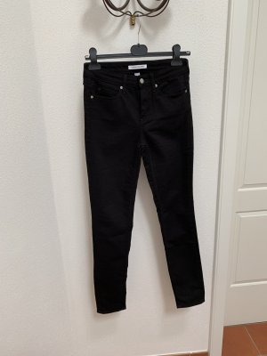 Calvin Klein Jeans Pantalone cinque tasche nero