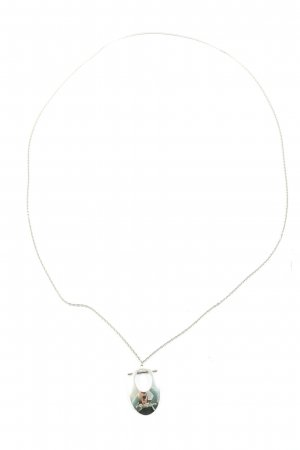 Calvin Klein Jeans Collier Necklace silver-colored casual look