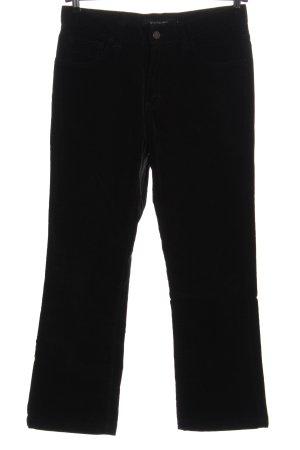 Calvin Klein Jeans Pantalon en velours côtelé noir style décontracté