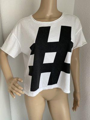 CALVIN KLEIN JEANS Damen T-Shirt in weiß Gr.S