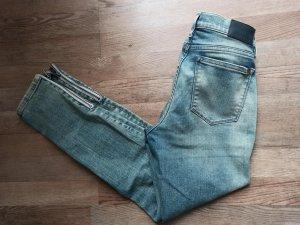 Calvin Klein Jeans skinny bleu azur