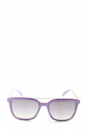 Calvin Klein Jeans Angular Shaped Sunglasses lilac casual look