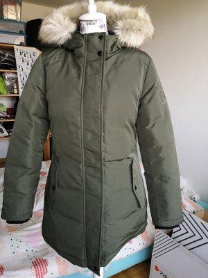 Calvin Klein Kurtka zimowa khaki