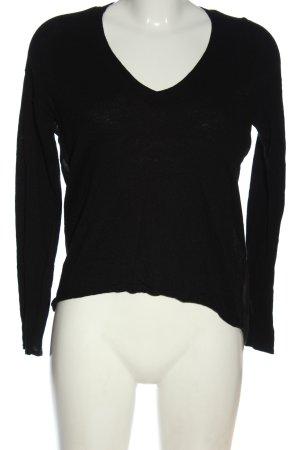 Calvin Klein Jeans Pull en maille fine noir style décontracté