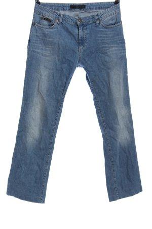 Calvin Klein Jeans Five-Pocket-Hose blau Casual-Look