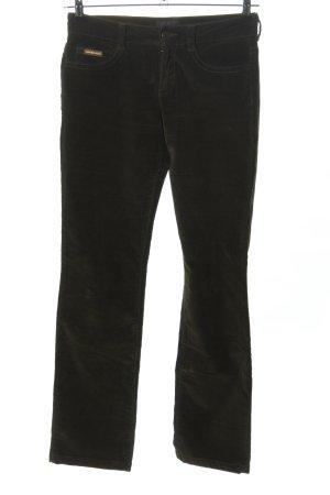 Calvin Klein Jeans Five-Pocket-Hose schwarz Casual-Look