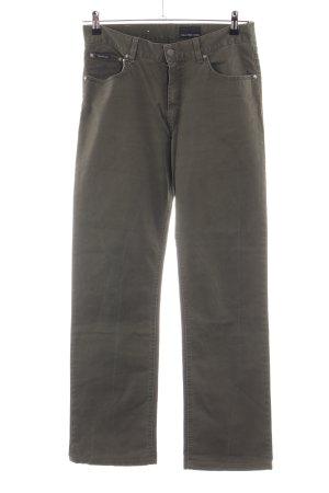 Calvin Klein Jeans Five-Pocket-Hose braun Casual-Look