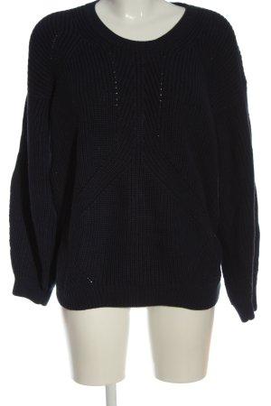 Calvin Klein Jeans Crochet Sweater black casual look