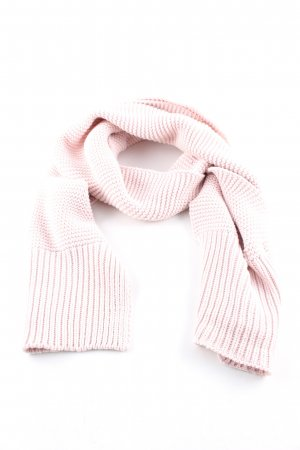 Calvin Klein Jeans Crochet Scarf pink cable stitch casual look