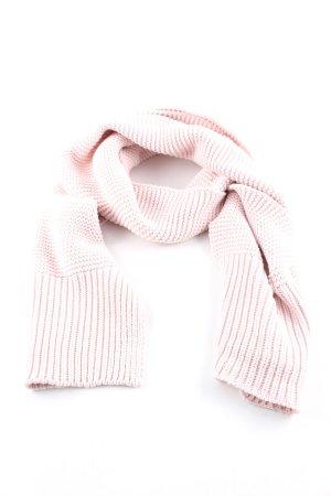 Calvin Klein Jeans Sciarpa all'uncinetto rosa punto treccia stile casual