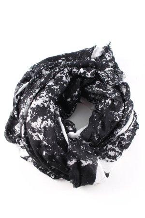 Calvin Klein Jeans Neckerchief black-white abstract pattern business style