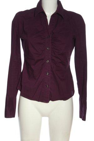 Calvin Klein Jeans Hemd-Bluse lila Business-Look