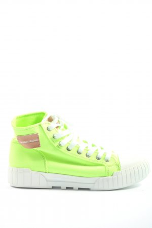 Calvin Klein Jeans High Top Sneaker Motivdruck Casual-Look