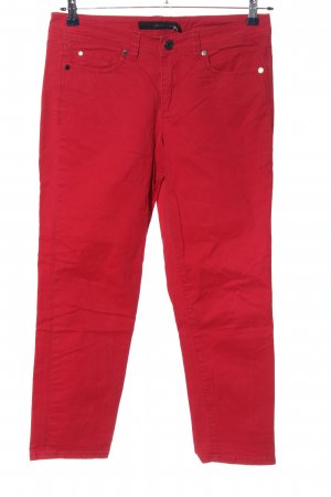 Calvin Klein Jeans High Waist Trousers red casual look