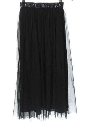 Calvin Klein Jeans Jupe taille haute noir style décontracté