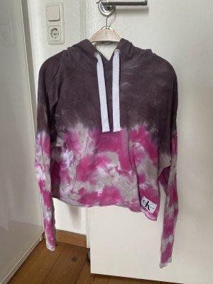 Calvin Klein Jeans Hoodie Pullover batik M tie dye