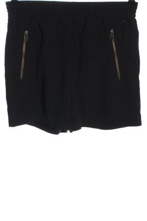 Calvin Klein Jeans Hot Pants schwarz Casual-Look