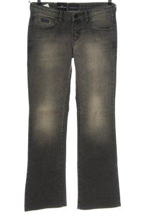 Calvin Klein Jeans Hüftjeans hellgrau Casual-Look