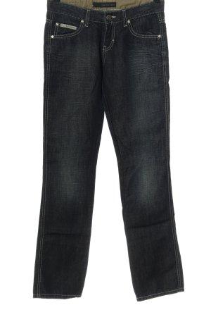 Calvin Klein Jeans Hüftjeans blau Casual-Look