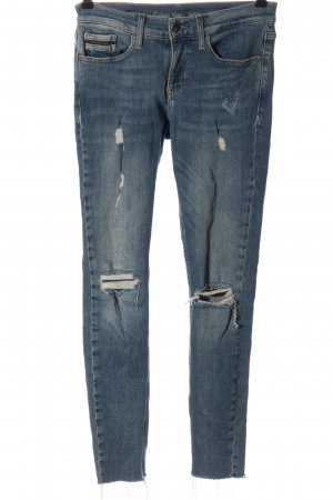 Calvin Klein Jeans Low Rise Jeans blue casual look