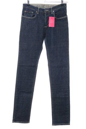 Calvin Klein Jeans Jeans vita bassa blu stile casual