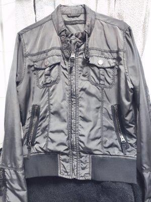 Calvin Klein Jeans Short Jacket grey mixture fibre