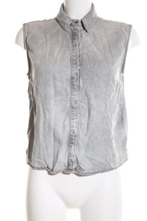 Calvin Klein Jeans Jeansbluse hellgrau Casual-Look