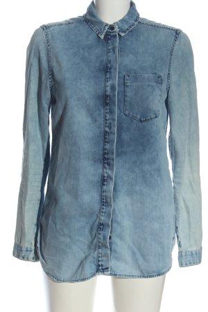 Calvin Klein Jeans Jeansowa koszula niebieski W stylu casual