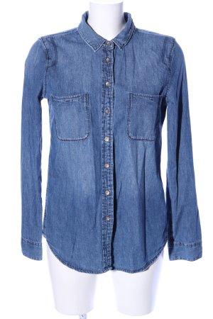 Calvin Klein Jeans Spijkershirt blauw casual uitstraling
