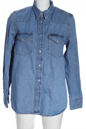 Calvin Klein Jeans Denim Shirt blue casual look