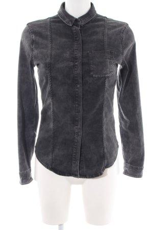 Calvin Klein Jeans Spijkershirt zwart casual uitstraling