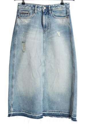 Calvin Klein Jeans Spijkerrok blauw casual uitstraling