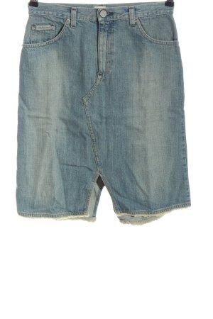 Calvin Klein Jeans Jupe en jeans bleu style décontracté