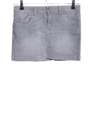 Calvin Klein Jeans Jupe en jeans gris clair style décontracté
