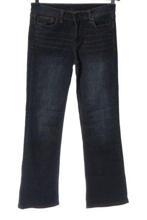 Calvin Klein Jeans Jeansschlaghose blau Casual-Look