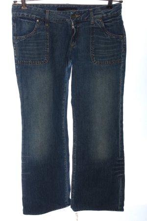Calvin Klein Jeans Jeansowe spodnie dzwony niebieski W stylu casual