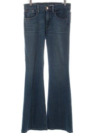 Calvin Klein Jeans Spijker flares blauw Gemengd weefsel