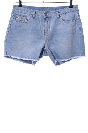 Calvin Klein Jeans Jeansshorts blau Casual-Look
