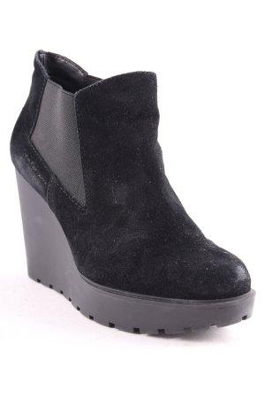 Calvin Klein Jeans Keil-Stiefeletten schwarz schlichter Stil