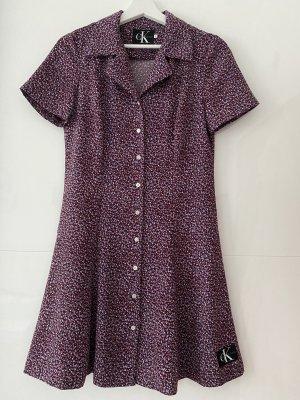 Calvin Klein Jeans Sukienka midi fiolet