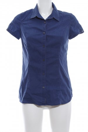 Calvin Klein Jeans Short Sleeved Blouse blue casual look