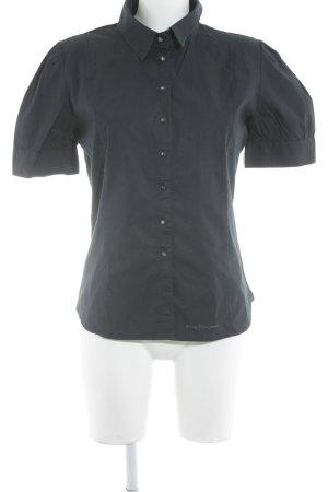 Calvin Klein Jeans Kurzarmhemd dunkelblau Business-Look