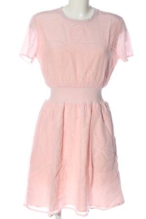 Calvin Klein Jeans Sukienka z krótkim rękawem różowy W stylu casual
