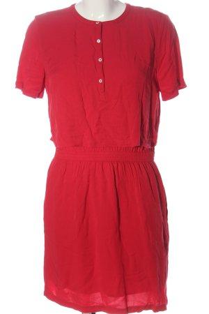 Calvin Klein Jeans Sukienka z krótkim rękawem czerwony W stylu casual