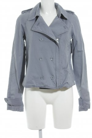 Calvin Klein Jeans Kurzjacke graublau Casual-Look